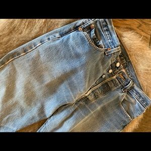 Levi's ButtonFly 501 jeans — beautifully faded!